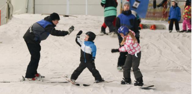 Indoor Skibaan SnowPlanet Spaarnwoude